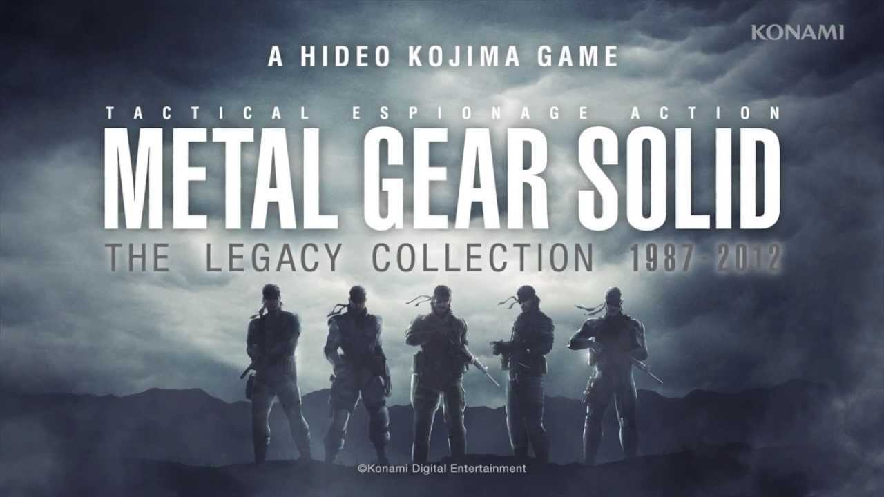 Metal Gear Solid Legacy Collection versione USA disponibile fix 3.41/3