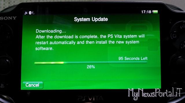 PSVita firmware 2.00
