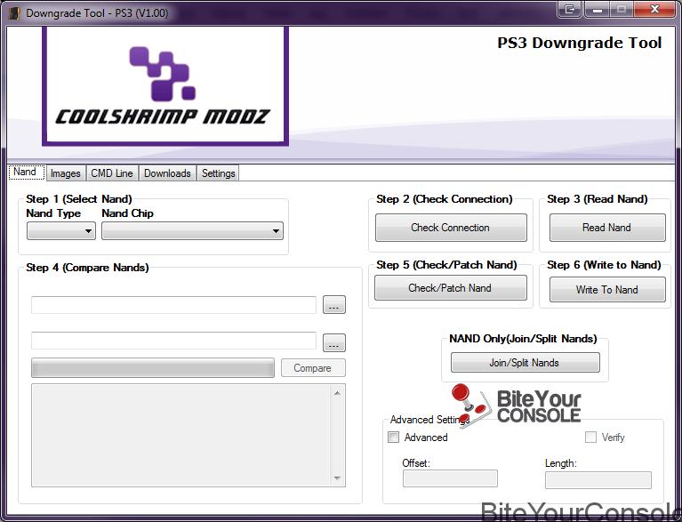 Downgrade Tool PS3 v1.00