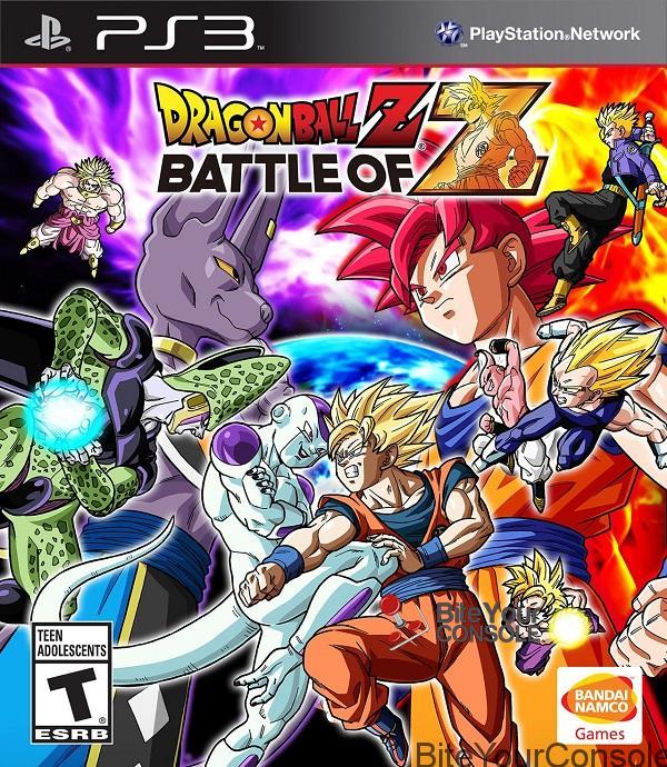 Dragon ball z battle of z copertina