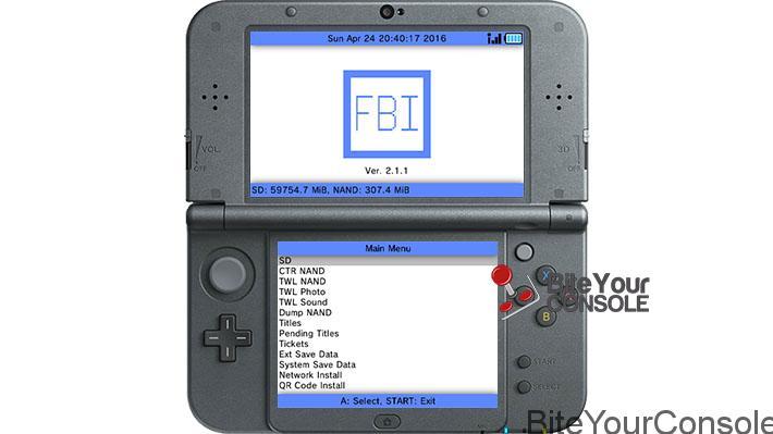 Scena 3DS] Rilasciato FBI Open Source CIA Installer v2 6 0