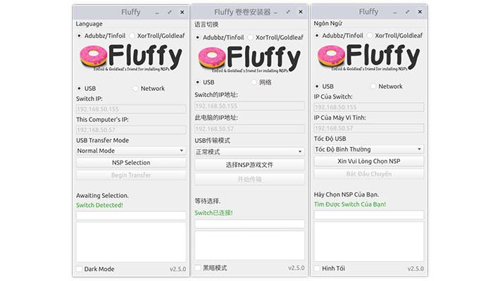 Scena Switch] Rilasciato Fluffy v2 7 1 con supporto per Tinfoil e
