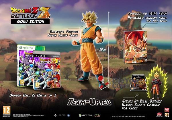 Goku Edition contenuto
