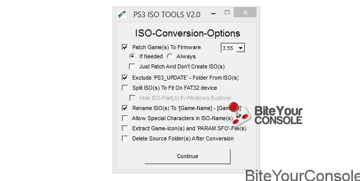 ISO-CONVERSION-OPTIONS
