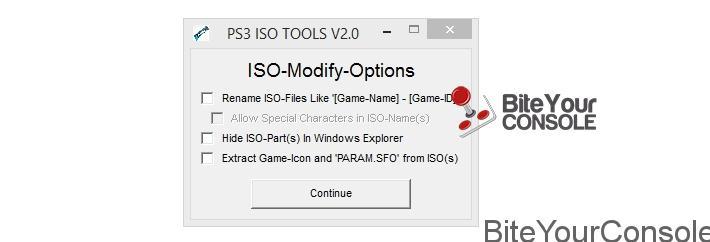 Scena Ps3] Rilasciato PS3 ISO TOOLS V2 00BiteYourConsole