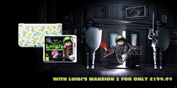 Luigi's Mansion 3ds limited edition