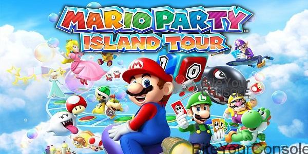 Mario Party Island 3ds