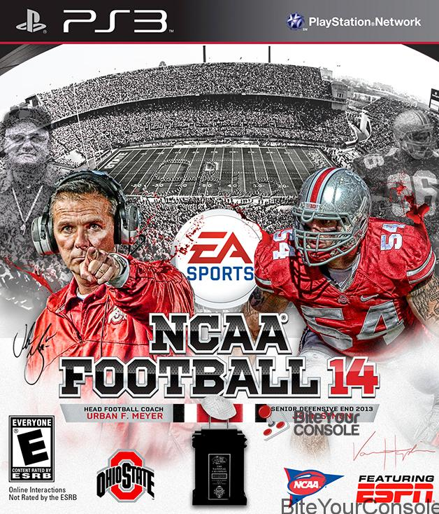 NCAA Football 14 OSU PS3