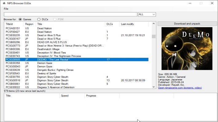 Scena PS Vita] Rilasciato NPS_Browser v0 72BiteYourConsole