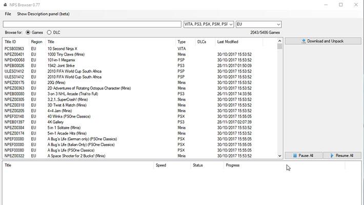 Scena PS Vita] Rilasciato NPS_Browser v0 77BiteYourConsole