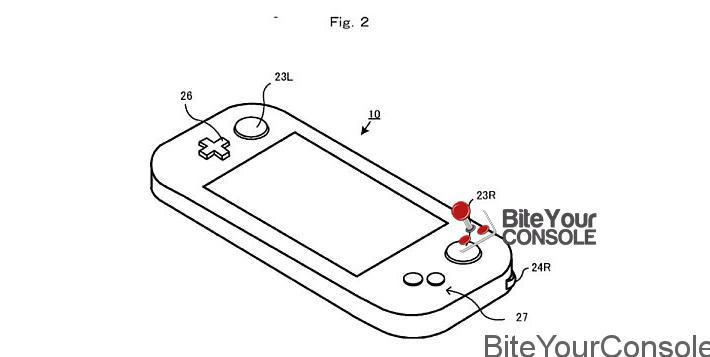 spunta un nuovo brevetto per una console portatile