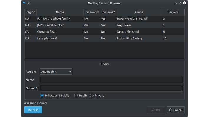 n64 netplay servers
