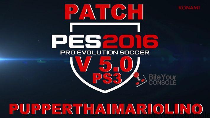 PATCH PES16 V 5.0