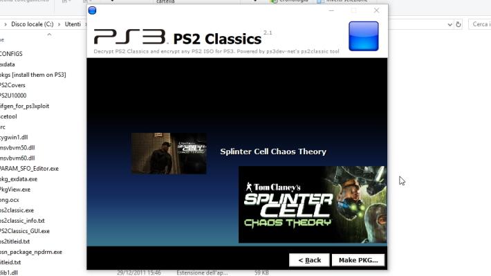 Scena PS3] Rilasciato PS2 Classics GUI v2 1 con supporto per i file