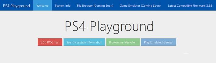 PS4 Playground 3.55