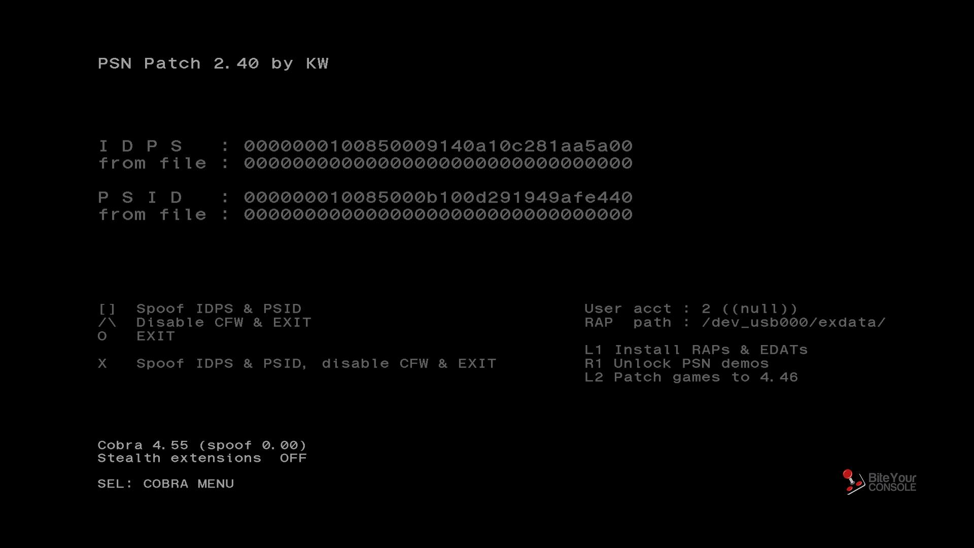PSN Patch - 2.40
