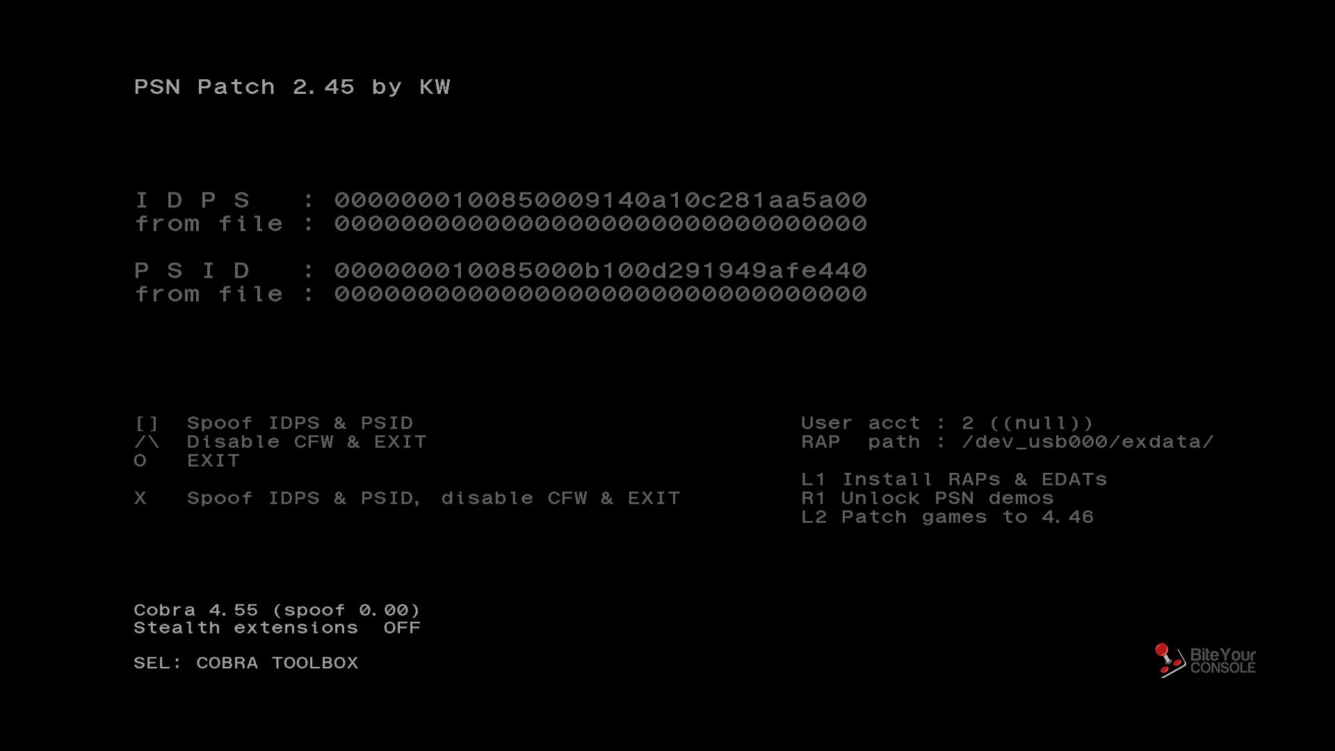 PSN Patch - 2.45