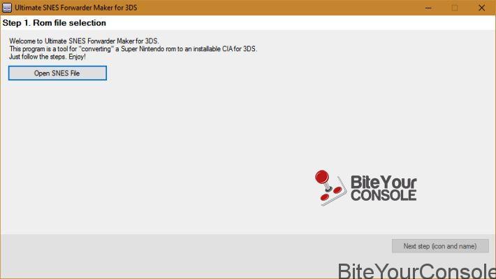 Scena 3DS] Rilasciato Ultimate SNES Forwarder Maker per New