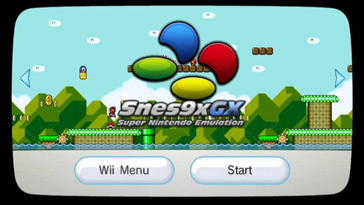 Rilasciato emulatore Snes9x GX v4 4 3 per console Nintendo Wii e