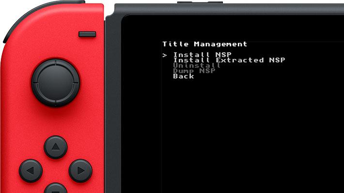 Scena Switch] Online il codice sorgente di Tinfoil – Title