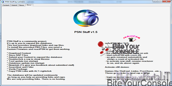 Scena PS3] PSN Stuff v1 5 rilasciatoBiteYourConsole