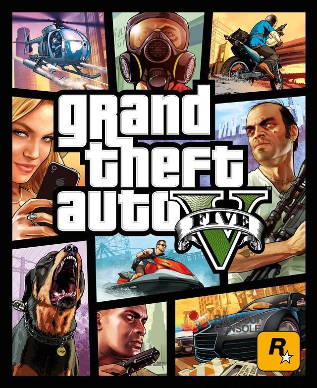 GTA 5 BOX ART UFFICIALE
