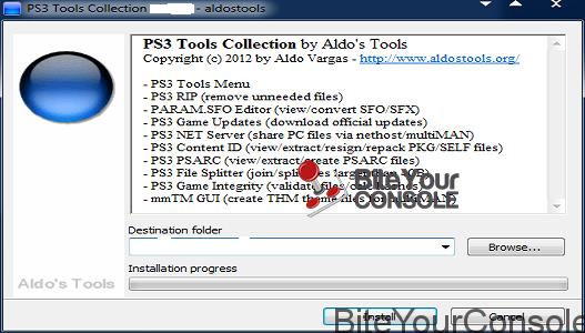 PS3 Tools Collection: Rilasciata versione 2 1 6 by Aldostools