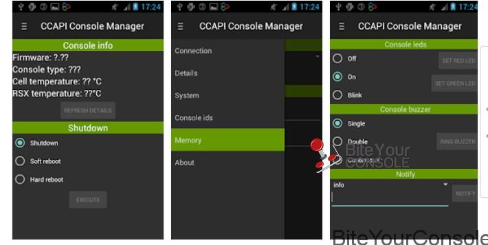 Control Console API v2.70.