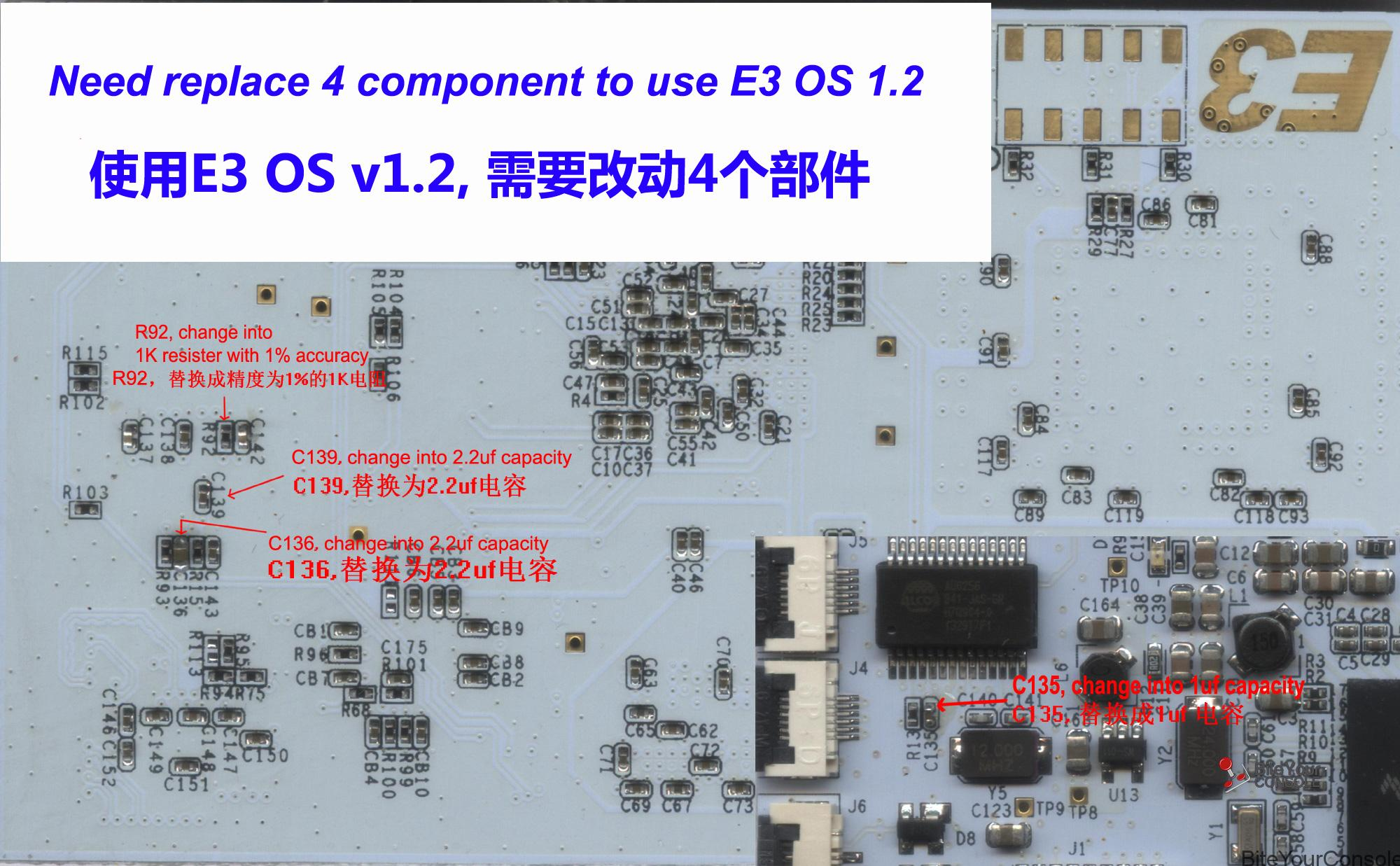 e3-ode-pro-update-v12-mise-a-jour-hardware-a-faire