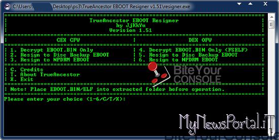 Eboot Resigner