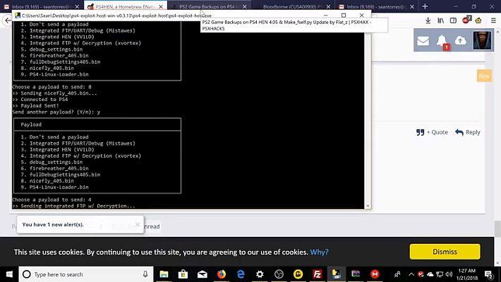 Scena PS4] Rilasciato PS4 Exploit Host v0 4 5 ora con supporto