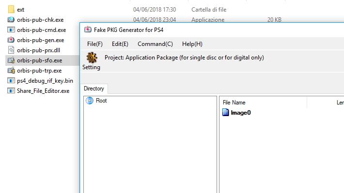 Scena PS4] Pubblicato Fake PKG Generator v3 12 [hotfix2]BiteYourConsole