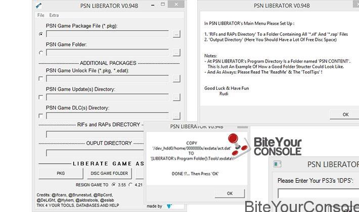 Scena PS3] Rilasciato PSN Liberator v0 94BBiteYourConsole