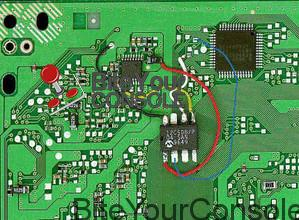 modchip-installato-su-sony-playstation