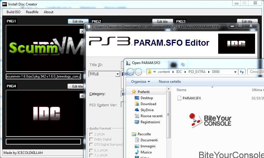 Scena Ps3] Rilasciata applicazione Install Disc Creator v1