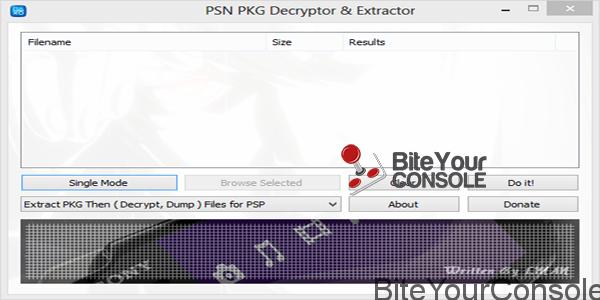 PSN PKG EXTRACTOR