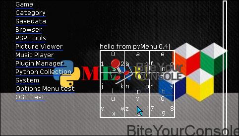 pyMenu03
