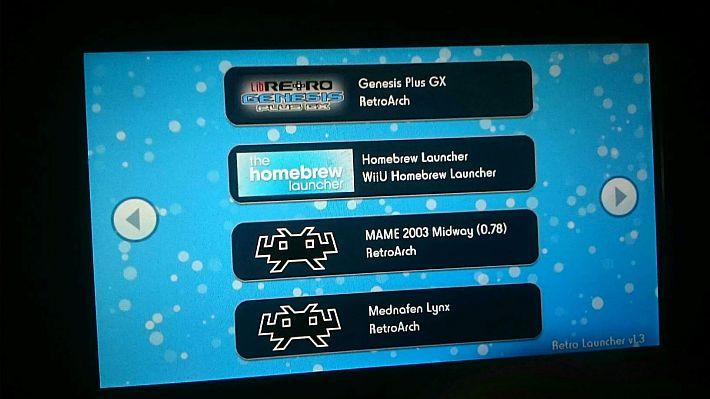 RetroArch per Wii U trova il supporto per i controller