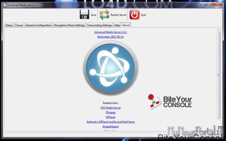 universal-media-server versione 1.21